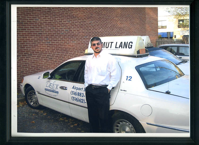 I was moonlighting driving service car taxi at that time.